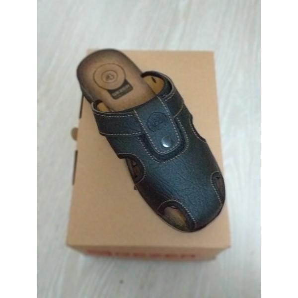 Gezer 9878 4 Noktalı Kapalı Erkek Terlik Sandalet Yazlık Ayakkabı
