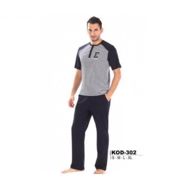 Terye Erkek PijamaTakım 302